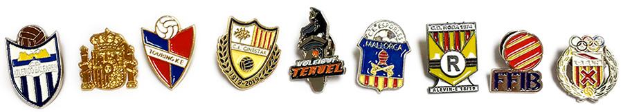 Pins metalicos personalizados