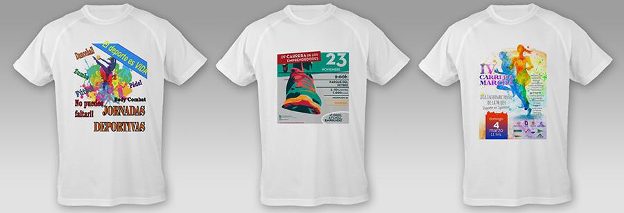 camisetas técnicas sublimadas