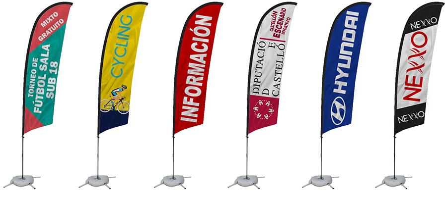 banderolas publicitarias baratas