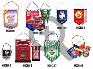 Tipos de banderines deportivos