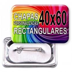 CHAPAS PERSONALIZADAS 60x40
