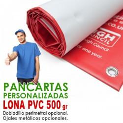 PANCARTA LONA PVC