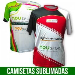 CAMISETAS SUBLIMADAS TECNICAS