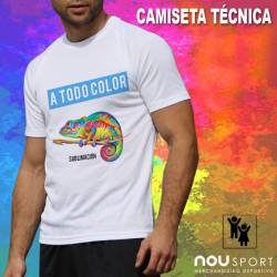 CAMISETAS TECNICAS CON FOTO