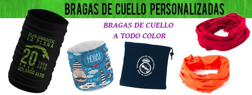 Bragas de cuello Personalizadas | Buf con Logotipo