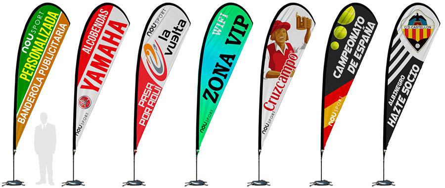 banderolas personalizadas lagrima
